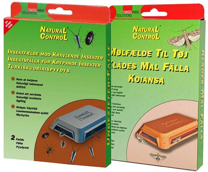 Torju koit ja turkiskuoriaiset. Natural Control Koiansan sekä Turkiskuoriaispyydyksen pakkauksissa on kaksi ansaa. Luonnollinen ja myrkytön syötti on hajuton. Myynti hyvin varustetuista puutarhamyymälöistä ja rautakaupoista. Maahantuoja Tarha-Tuote.