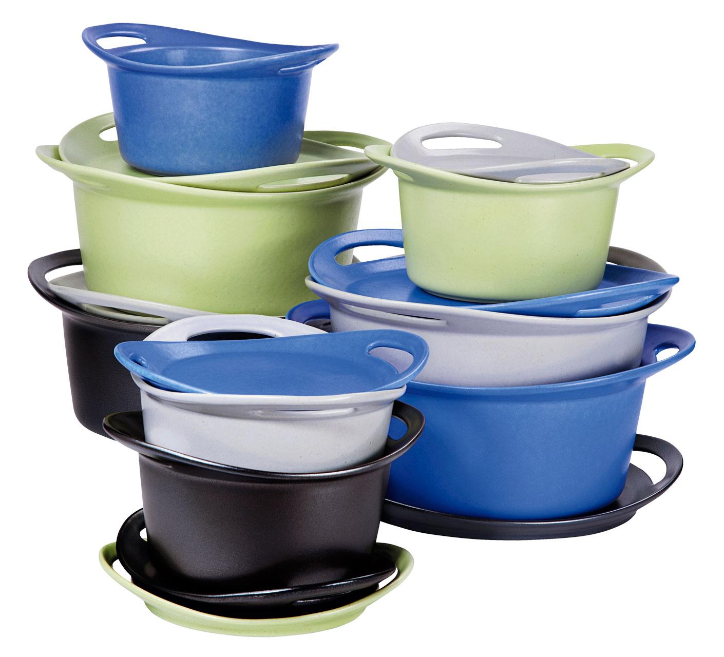 Hotpot Duon värivaihtoehdot ovat musta, harmaa, lime ja sininen.