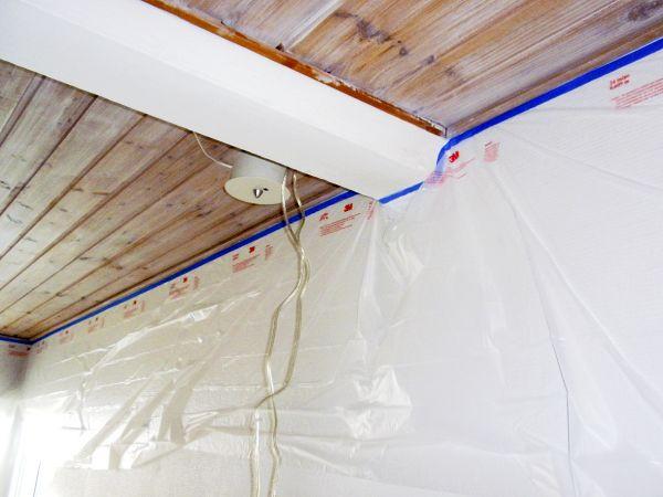 Pintojen suojaaminen ruiskumaalauksessa on tärkeää