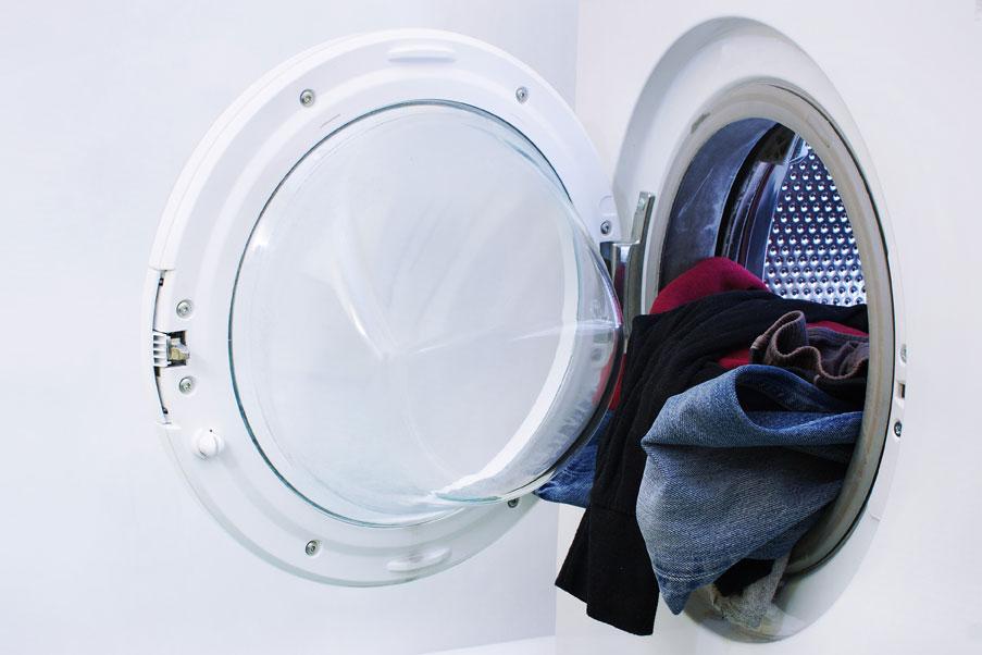 pyykinpesukone - pyykinpesuaine