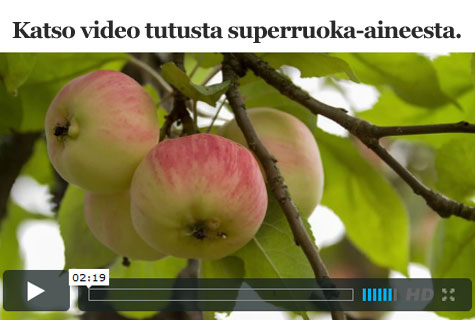 Omena on superfoodia - katso video