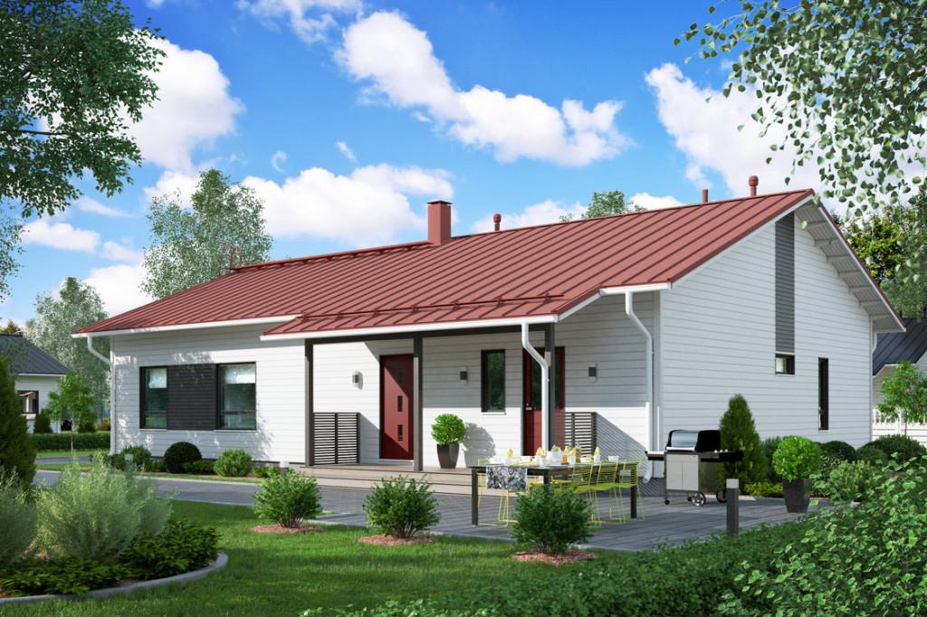 Design talo Moderni Käpylä D1 162a