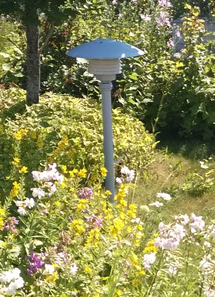 ulkovalaistus puutarhaan