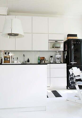 Keittiöideoita – vanhan puutalon moderni keittiö  Suomela