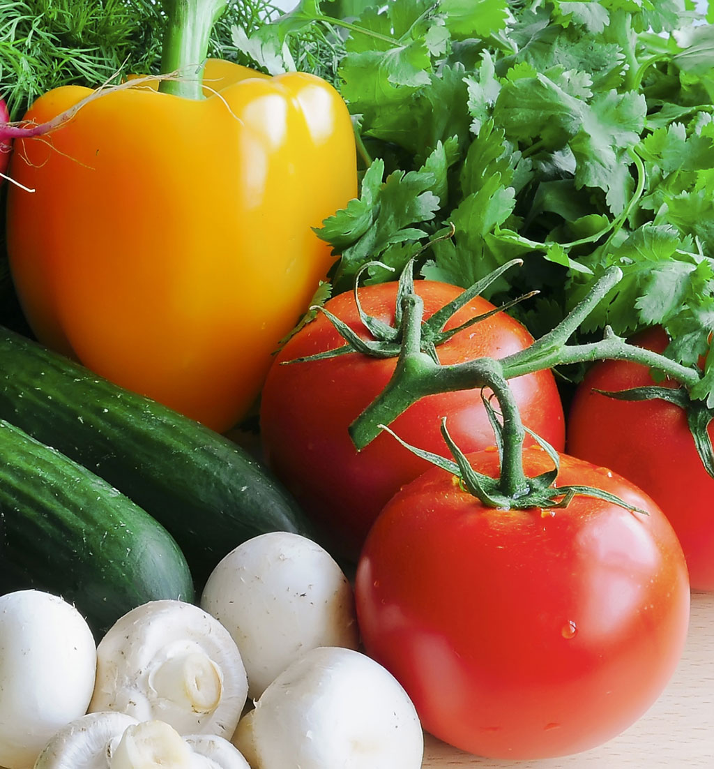Tomaatteja syysflunsan ehkaisyyn