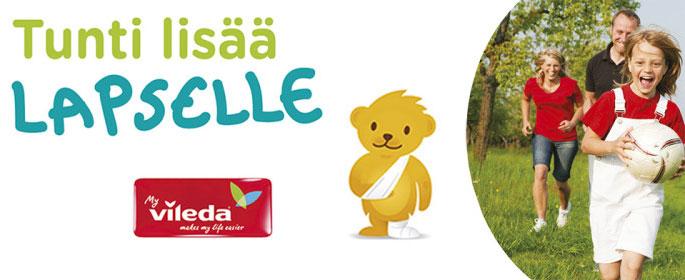 Tunti lisää lapselle hyväntekeväisyyskampanja -siivousvinkit