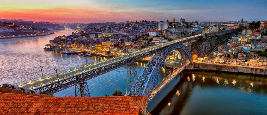 budjettimatka - Dom Luís I -silta, Porto