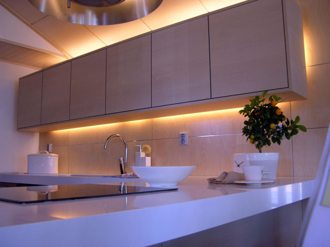 keittiön suunnittelu - valaistus