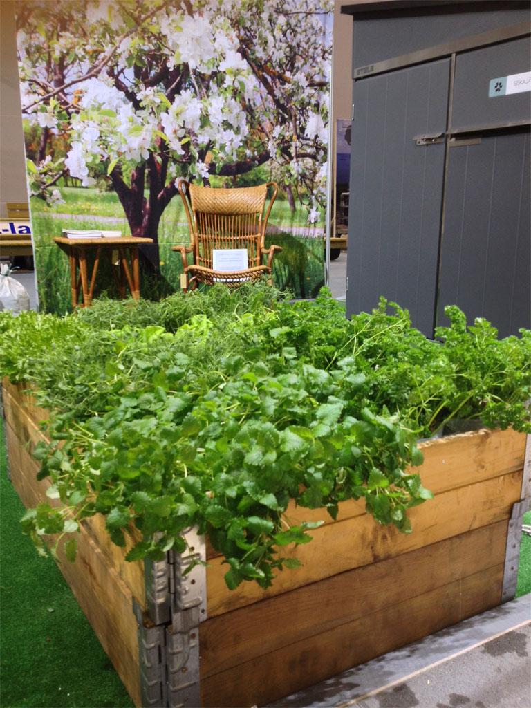 puutarha - piharakentaminen