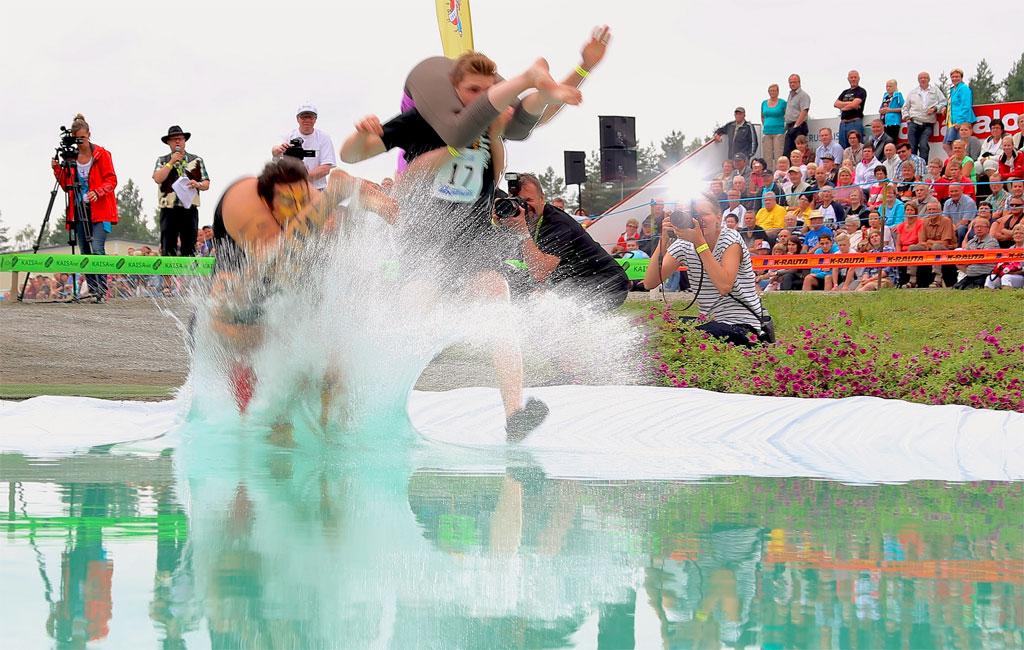 Eukonkannon maailmanmestaruuskisat. Kuva: Visit Lakeland