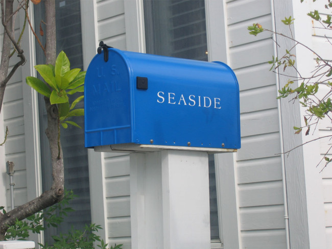 postilaatikko - postin kääntäminen