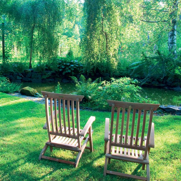 melusuojaus - puutarha