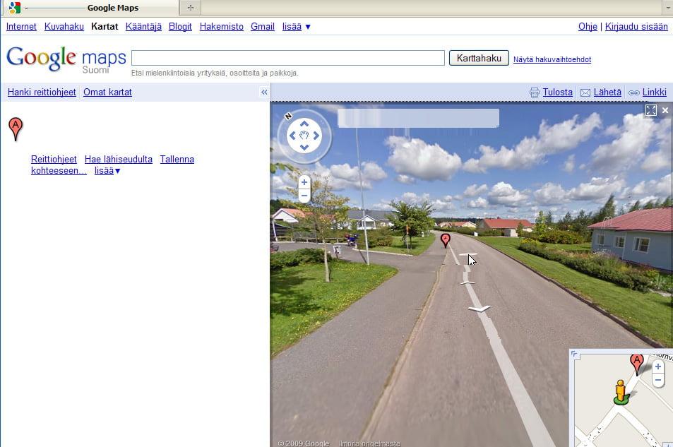 Google Avasi Katunakymat Nettiin Loydatko Kuvat Omasta Talostasi