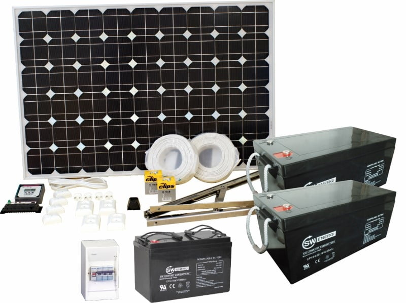 SW-Energia Aurinkopaneelipaketti Duo