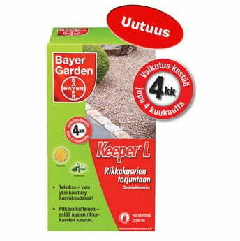 Bayer Garden Keeper L Rikkakasvien torjuntaan