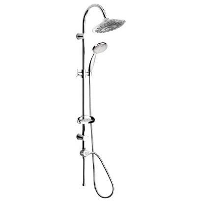 Biltema Kaksitoiminen LED-valoilla varustettu suihku