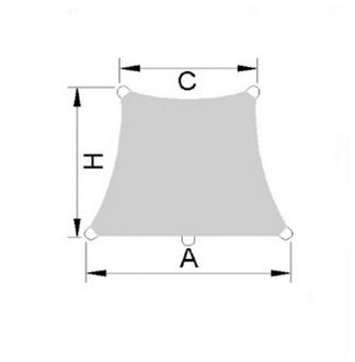Caravita Aurinkopurje Premium ST nelikulmio seinälle