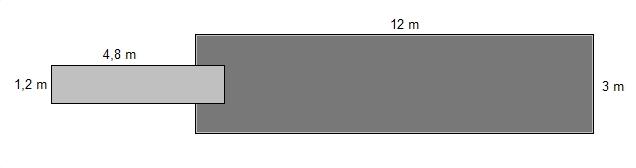 Savorak massiiviponttonilaituri 12 x 3 m