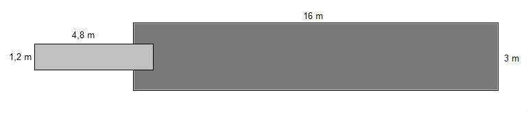 Savorak massiiviponttonilaituri 16 x 3 m
