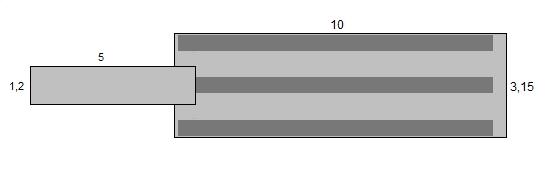 Savorak putkiponttonilaituri 10 x 3