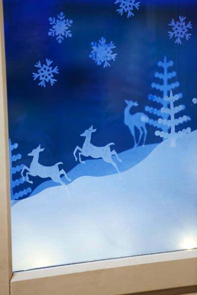 Jouluaskartelu, jouluinen ikkunakoriste