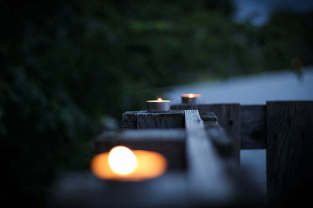 Kodin paloturvallisuus – Älä polta kynttilää loppuun edes terassilla