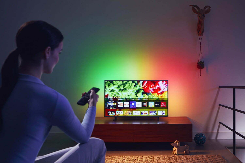 Mitä suurempi televisio on, sitä enemmän kannattaa panostaa sen kuvanlaatuun.