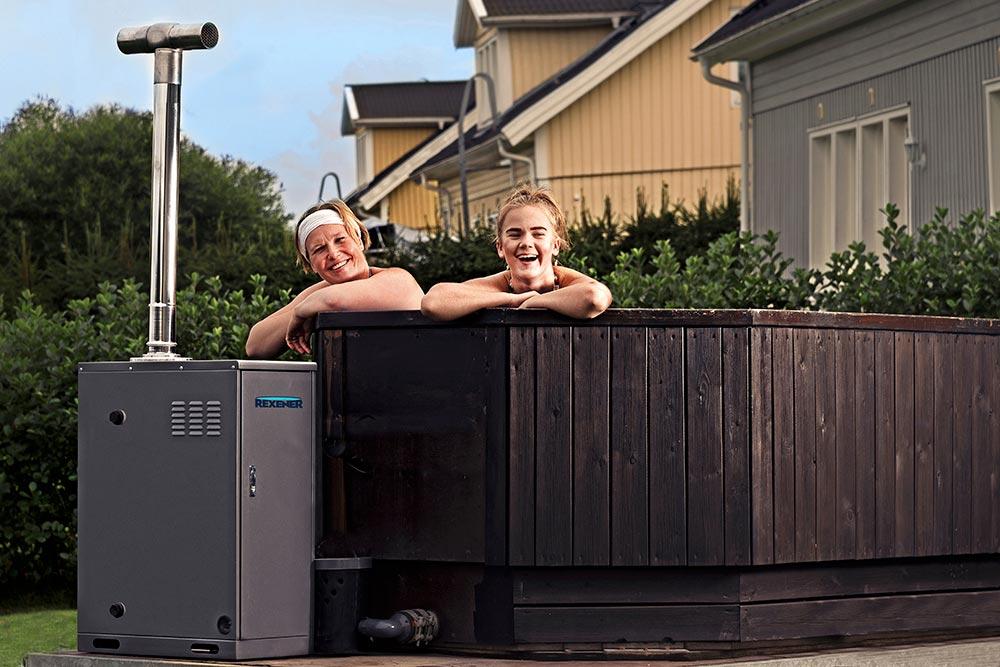 Pientaloasujan asialla – paljun lämmittäminen: Kylpytynnyri lämpimäksi