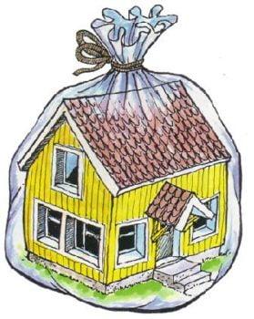 Talon huono ilmanvaihto aiheuttaa vahinkoa