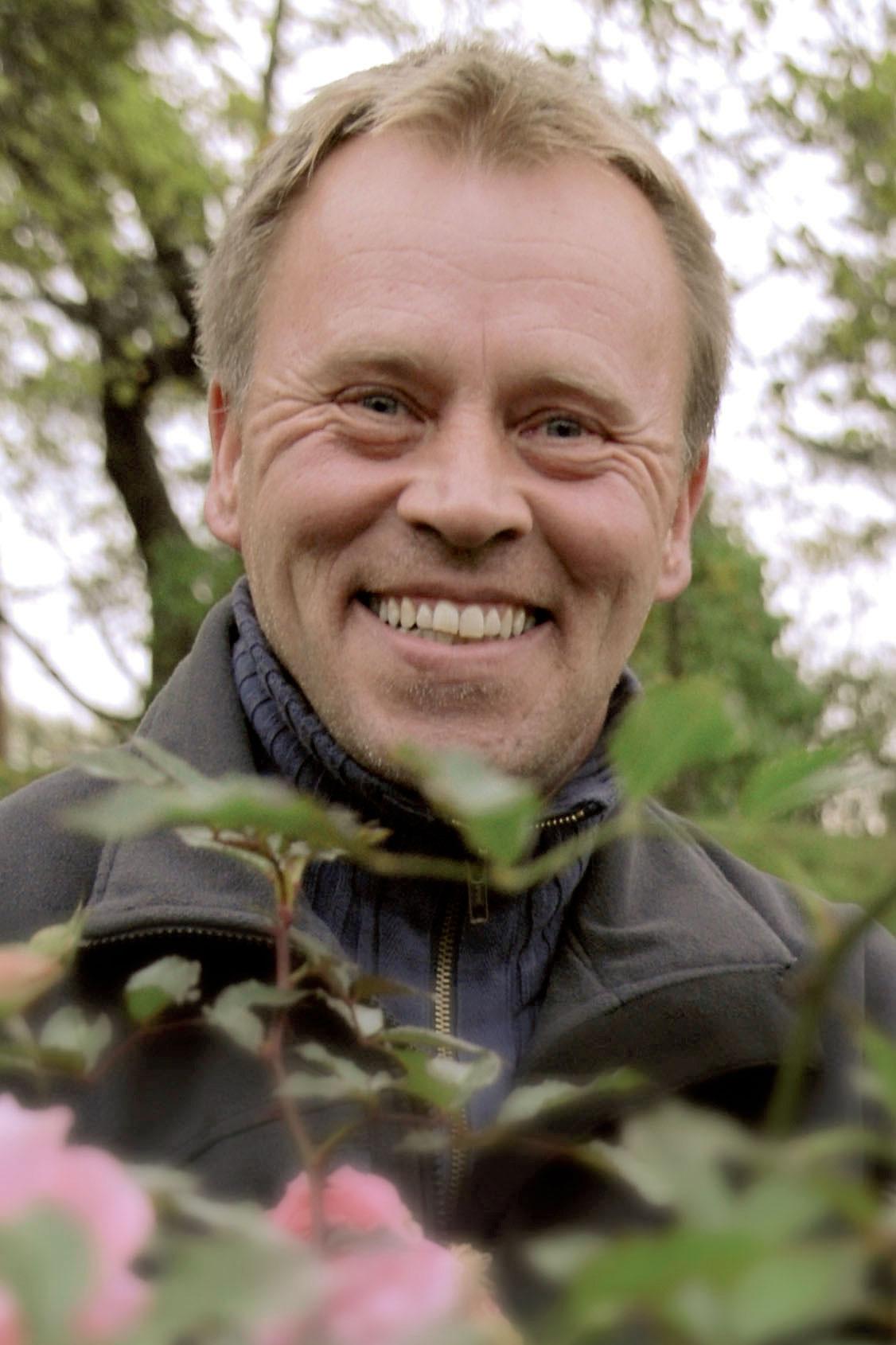 Puutarhuri Pekka Savolainen