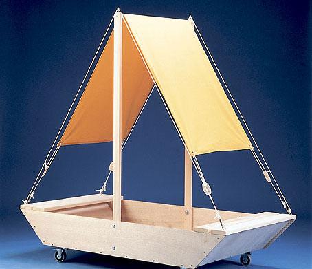 Valmis hiekkalaatikkovene