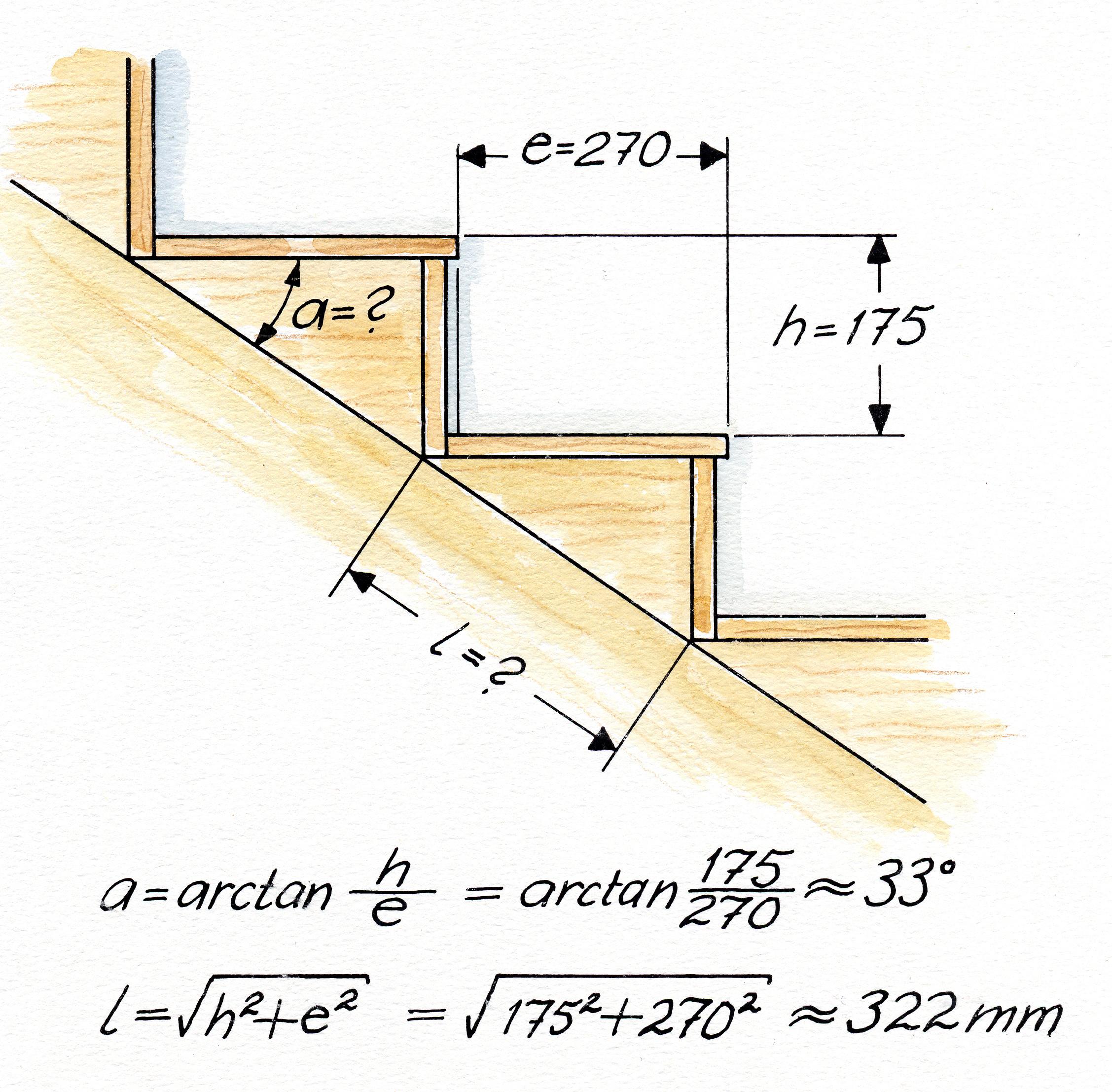 Portaiden mitoitus - montako askelmaa portaisiin tarvitaan?