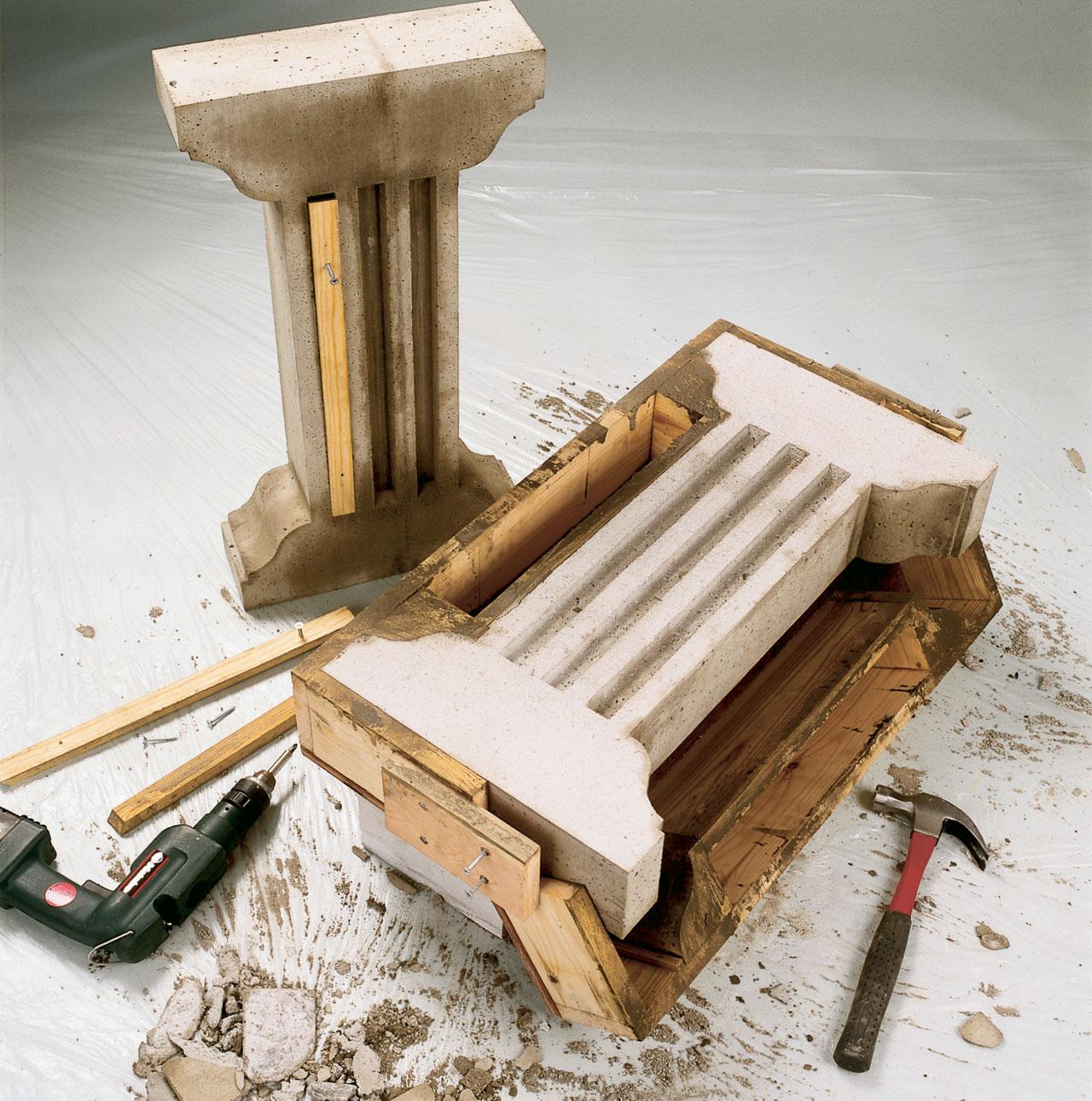 Anna betonin kovettua 3–4 vuorokautta ja avaa muotti sen jälkeen.