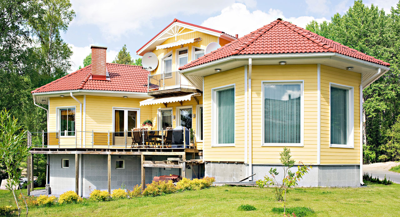 Sydämenmuotoinen talo valmistui hartiapankkityönä muuttokuntoon vuodessa.