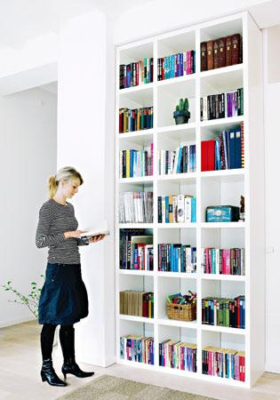 Lokerohyllyyn saat paljon kirjoja