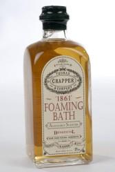 Ylellisiin kylpyhetkiin. Thomas Crapper & Co kylpyvaahto, 20 euroa, Venuksen Kylpy.
