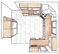 Domuksen keittiösuunnitelma