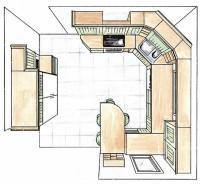 Petra-keittiöiden keittiösuunnitelma