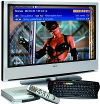 Televisiolähetyksiä voidaan siirtää myös laajakaistayhteyden kautta
