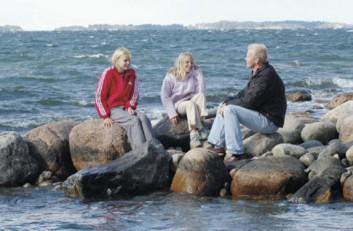 Kun Rolf ja Johanna ryhtyivät suunnittelemaan taloa entiselle huvila-alueelle, he halusivat ottaa huomioon merimaiseman