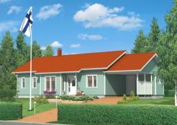 Kotitalo 136, valmistaja Pyhännän rakennustuote