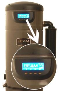 LCD-näyttö mahdollistaa keskusyksikön tilan jatkuvan valvonnan
