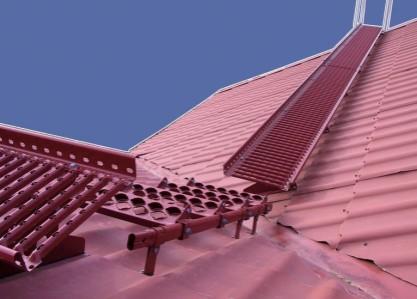 Monimutkaisella katolla saattaa joutua siirtymään tasolta toiselle.
