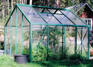 Kasvihuoneessa voi viljellä esimerkiksi tomaatteja