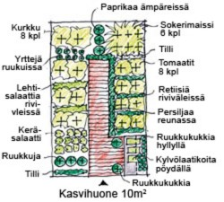 Kasvihuonepiirros