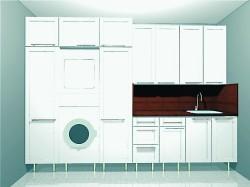 Kodinhoitohuoneen kalusteiden valmistaja on Profit-keittiöt