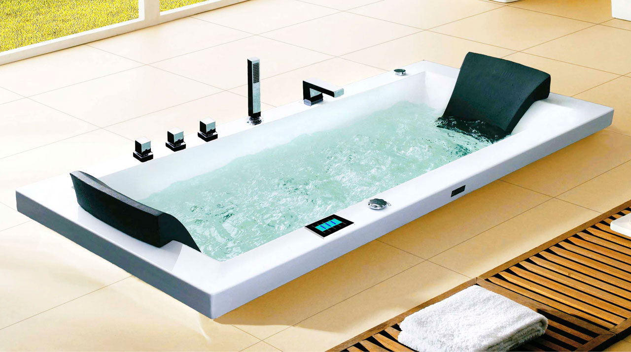 Kylpyhuonemarket, upotettava rungollinen poreamme BT-108
