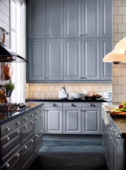Harmaa on Ikean Lidingö-oven tyylikäs, maalaishenkinen uutuusväri.