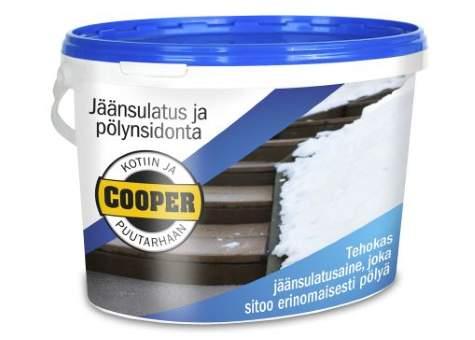 Cooperin jäänsulatus- ja pölynsidonta-aine