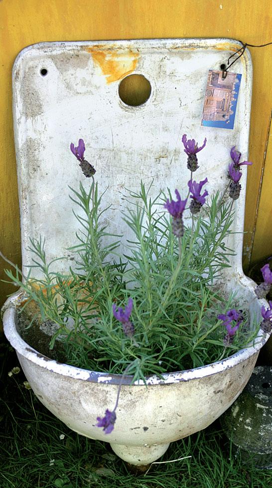 Tutki myös roskalavat ja kierrätyskeskukset – hyvällä onnella niissä voi tehdä löytöjä puutarhaan puoli-ilmaiseksi.